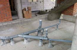 Монтаж канализации в коттедже под ключ Мытищи