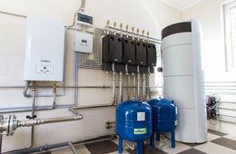 Монтаж системы отопления в коттедже Мытищи