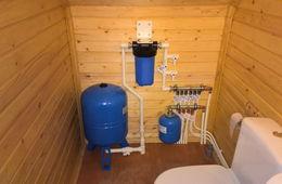 Монтаж водоснабжения в частном доме Мытищи