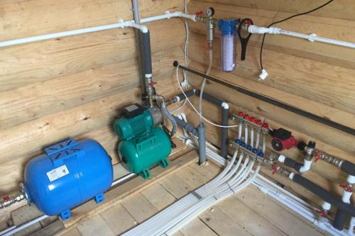 Монтаж водоснабжения в Мытищах